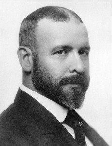 L. H. Sullivan vers 1900.